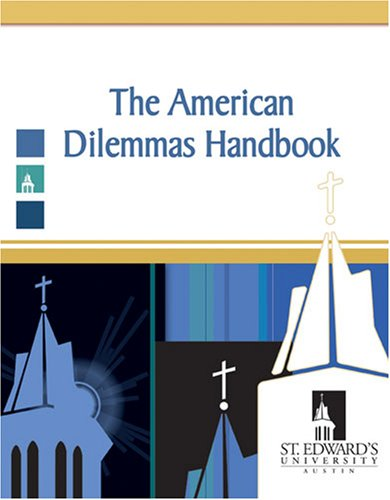 9780757538605: THE AMERICAN DILEMMAS HANDBOOK