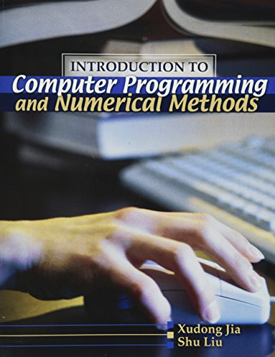9780757538926: Introduction To Computer Programming And Numerical Methods