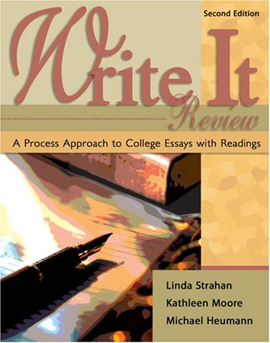 9780757539305: Write It Review: A Process Approach to College Essays with Readings