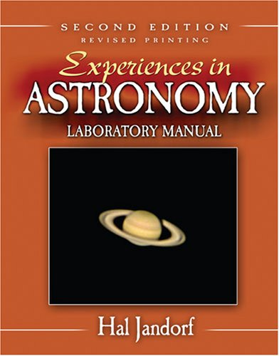 9780757540448: EXPERIENCES IN ASTRONOMY LABORATORY MANUAL