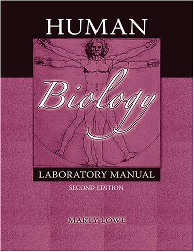 9780757541889: Human Biology Laboratory Manual