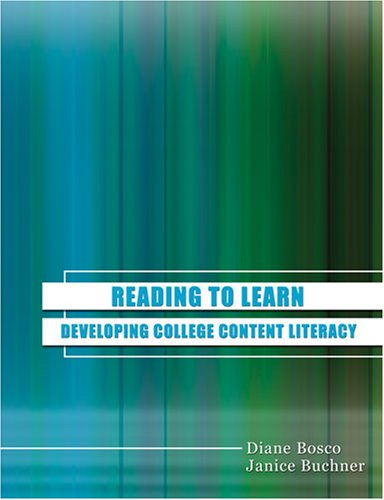 9780757544279: Reading To Learn: Developing College Content Literacy