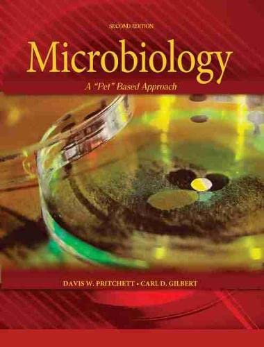 """MICROBIOLOGY: A """"PET"""" BASED APPROACH INTRODUCTORY LABORATORY: Pritchett-Gilbert"""