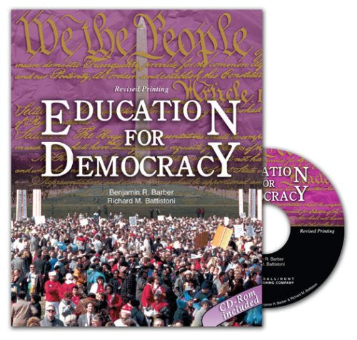 9780757544644: EDUCATION FOR DEMOCRACY: A SOURCEBOOK FOR STUDENTS AND TEACHERS