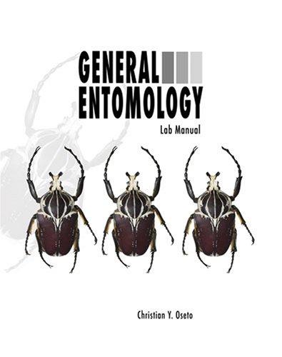 9780757544842: GENERAL ENTOMOLOGY LABORATORY MANUAL