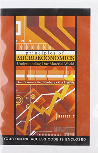 9780757544972: Principles of Microeconomics: Understanding Our Material World