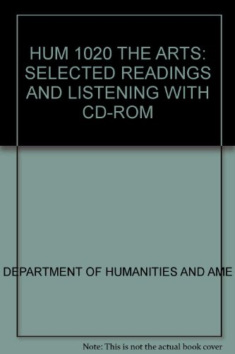 9780757545108: HUM 1020 THE ARTS: SELECTED READINGS AND LISTENING WITH CD-ROM