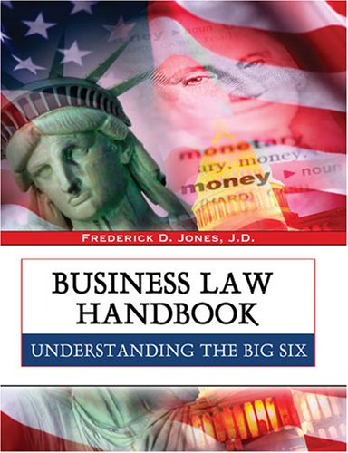 Business Law Handbook: Frederick Jones