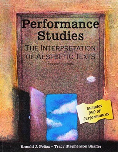 9780757545405: Performance Studies: The Interpretation of Aesthetic Texts