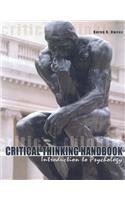 Critical Thinking Handbook: Introduction To Psychology: Karen Owens