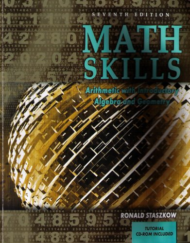 9780757546129: MATH SKILLS: ARITHMETIC WITH INTRODUCTORY ALGEBRA AND GEOMETRY