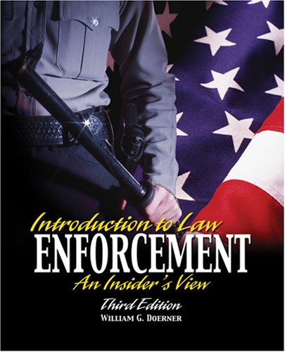 9780757546747: INTRODUCTION TO LAW ENFORCEMENT: AN INSIDER'S VIEW