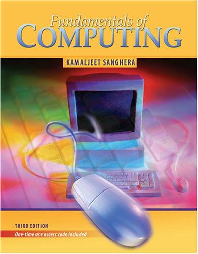 Fundamentals of Computing: SANGHERA KAMALJEET