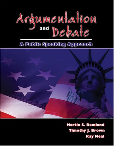 9780757547560: Argumentation and Debate: A Public Speaking Approach