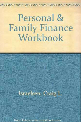 9780757548567: Personal AND Family Finance Workbook