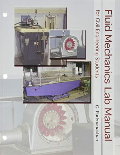 9780757548604: Fluid Mechanics Laboratory Manual For Civil Engineering Students