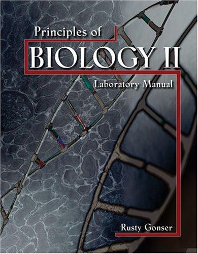 9780757548628: PRINCIPLES OF BIOLOGY II LABORATORY MANUAL