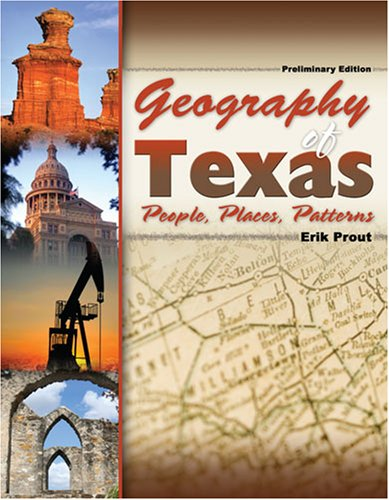 9780757548659: GEOGRAPHY OF TEXAS: PEOPLE, PLACES, PATTERNS