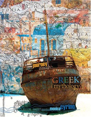 9780757548710: A Journey through Greek Mythology