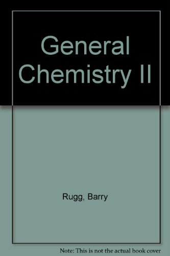 9780757549205: GENERAL CHEMISTRY II LABORATORY MANUAL