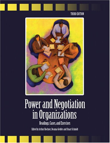 9780757549236: Power And Negotiation In Organizations: Readings, Cases And Exercises