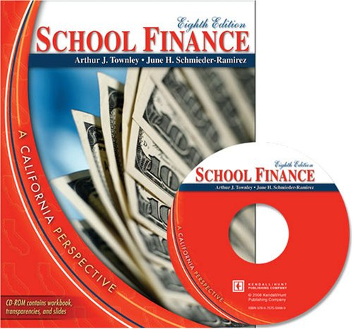 9780757550072: School Finance: A California Perspective (with CD)
