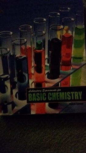 Laboratory experiments for basic chemistry: ALAN, SHERMAN; SHARON,