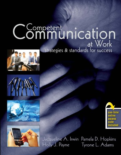9780757552175: Competent Communication at Work: Strategies and Standards for Success