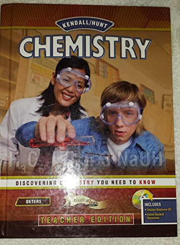 9780757552373: Kendall/Hunt Chemistry Teacher Edition
