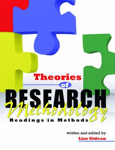 9780757554520: Theories of Research Methodology: Readings in Methods