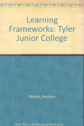 9780757555237: LEARNING FRAMEWORKS: TYLER JUNIOR COLLEGE