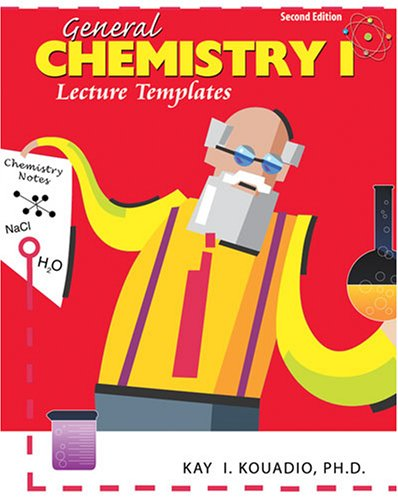 9780757555893: GENERAL CHEMISTRY I LECTURE TEMPLATES