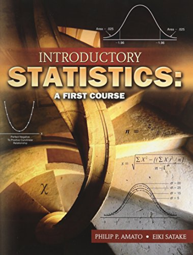 9780757555930: INTRODUCTORY STATISTICS: A FIRST COURSE