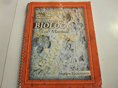 9780757556036: INTRODUCTION TO BIOLOGY LAB MANUAL