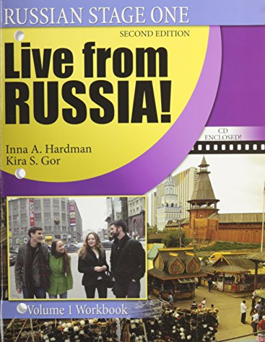 9780757557842: Russian Stage One / Live from Russia! : Volume 1 - Workbook [Paperback]