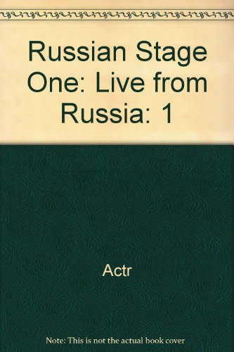 9780757557859: Russian Stage One: Live from Russia, Volume 1 DVD