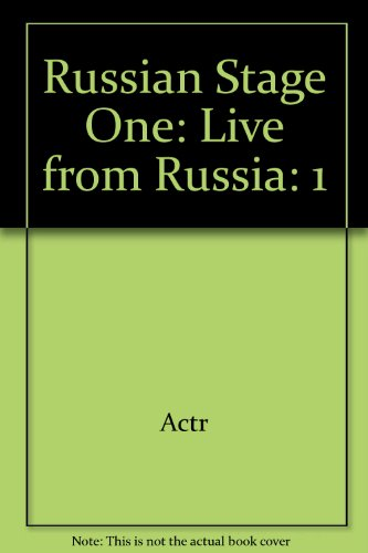 9780757557866: Russian Stage One: Live from Russia, Volume 1 CD