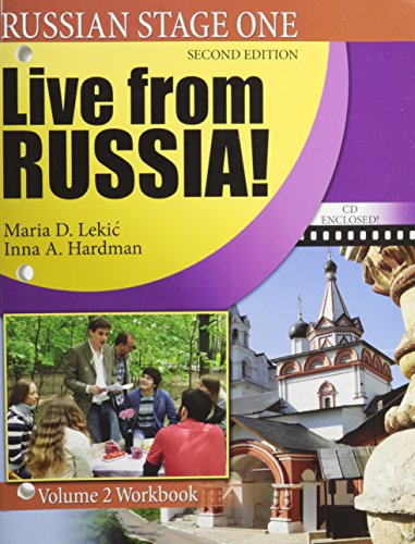 9780757558436: Russian Stage One: Live From Russia: Volume 2 Workbook, Second Edition