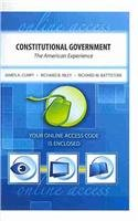 9780757558474: CONSTITUTIONAL GOVERNMENT: THE AMERICAN EXPERIENCE