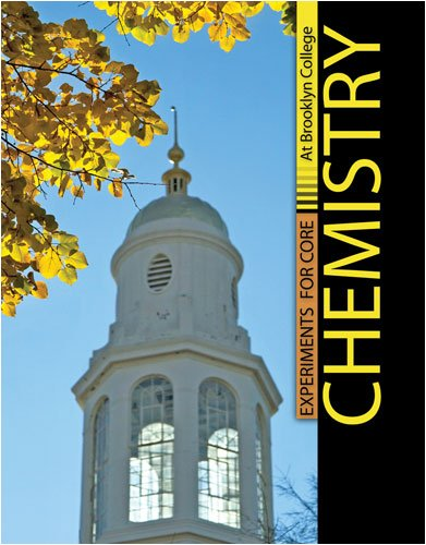 9780757558498: Experiments for Core Chemistry at Brooklyn College