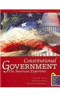 9780757558603: Constitutional Government: The American Experience