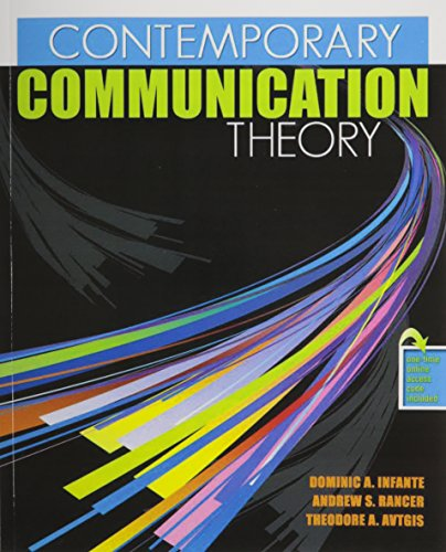 9780757559891: Contemporary Communication Theory