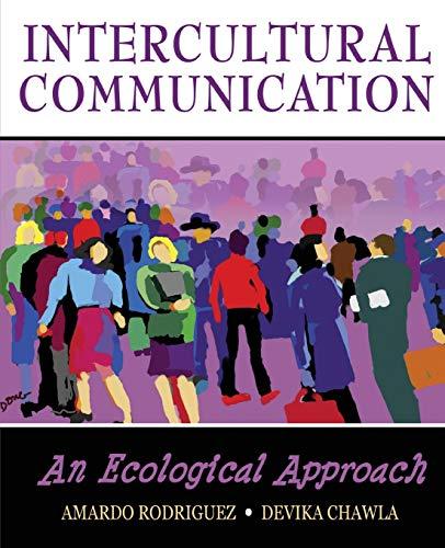 9780757559921: Intercultural Communication: An Ecological Approach