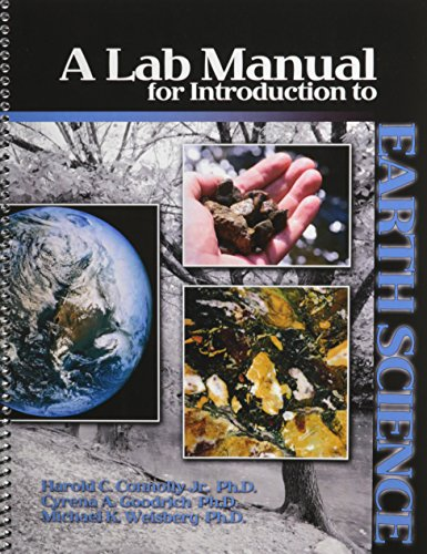9780757561160: A Lab Manual for Introduction to Earth Science