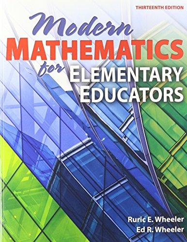 9780757562044: Modern Mathematics for Elementary Educators, 13th Edition