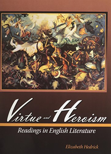 9780757562297: Virtue and Heroism: Readings in English Literature