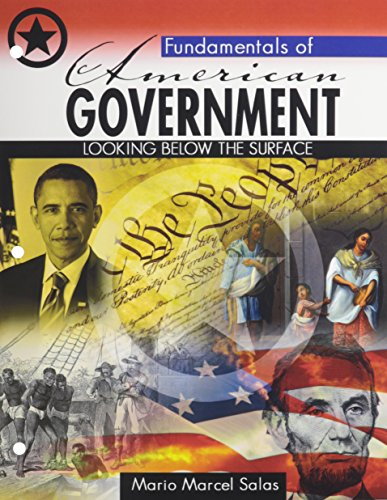 Fundamentals of American/Texas Government: SALAS MARIO M