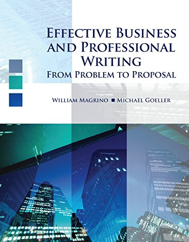 Scientific and Technical Writing Today : From: William Magrino; Michael