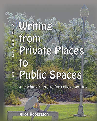 9780757568718: Writing from Private Places to Public Spaces