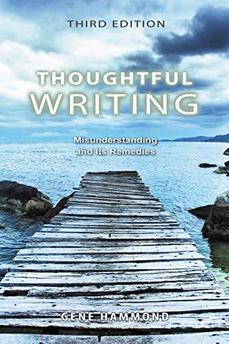 9780757570148: Thoughtful Writing